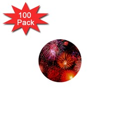 Fireworks 100 Pack Mini Button (round)