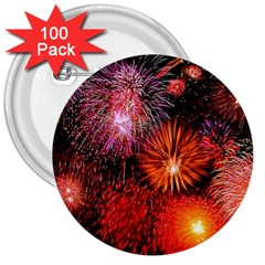 Fireworks 100 Pack Large Button (Round)