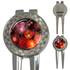Fireworks Golf Pitchfork & Ball Marker