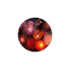 Fireworks Golf Ball Marker