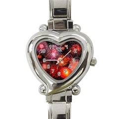 Fireworks Classic Elegant Ladies Watch (Heart)