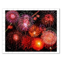 Fireworks Jigsaw Puzzle (Rectangle)