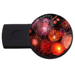 Fireworks 4Gb USB Flash Drive (Round)
