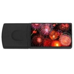 Fireworks 4Gb USB Flash Drive (Rectangle)