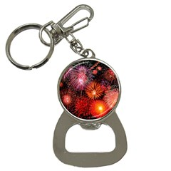Fireworks Key Chain with Bottle Opener