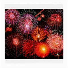 Fireworks Single Sided Large Glasses Cleaning Cloth