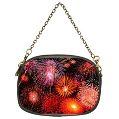 Fireworks Single Sided Evening Purse
