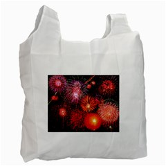Fireworks Twin-sided Reusable Shopping Bag