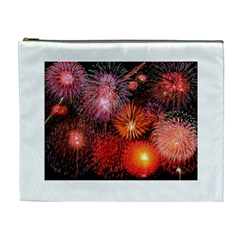 Fireworks Extra Large Makeup Purse