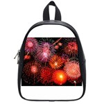 Fireworks Small School Backpack Front