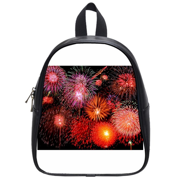 Fireworks Small School Backpack