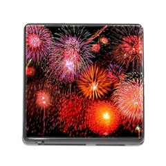 Fireworks Card Reader with Storage (Square)