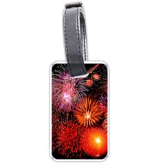 Fireworks Twin-sided Luggage Tag