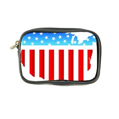 Usa Flag Map Ultra Compact Camera Case