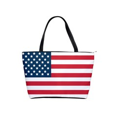 Untited States of America - Flag - Large Shoulder Bag