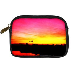 Pink Sunset Compact Camera Case