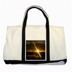 Rainbows And Sunsets 031 Two Toned Tote Bag