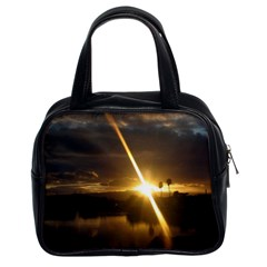 Rainbows And Sunsets 031 Twin-sided Satched Handbag