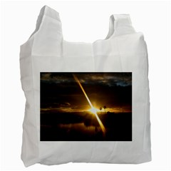 Rainbows And Sunsets 031 Twin-sided Reusable Shopping Bag