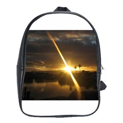 Rainbows And Sunsets 031 Large School Backpack