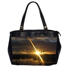 Rainbows And Sunsets 031 Twin-sided Oversized Handbag