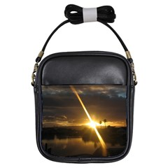 Rainbows And Sunsets 031 Kids'' Sling Bag