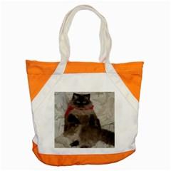 Bandit Cat Snap Tote Bag