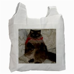 Bandit Cat Twin-sided Reusable Shopping Bag