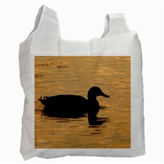 Lone Duck Single-sided Reusable Shopping Bag
