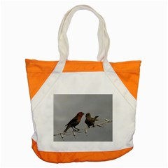 Chit Chat Birds Snap Tote Bag