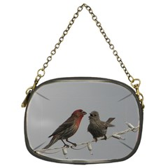 Chit Chat Birds Twin-sided Evening Purse
