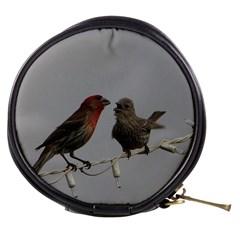 Chit Chat Birds Mini Makeup Case