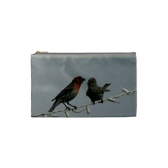 Chit Chat Birds Small Makeup Purse