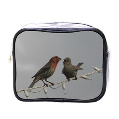 Chit Chat Birds Single-sided Cosmetic Case