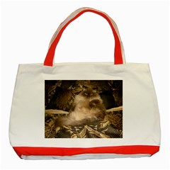 Prince Kitty Red Tote Bag