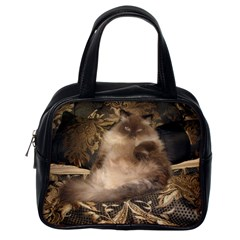 Prince Kitty Single-sided Satchel Handbag