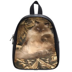 Prince Kitty Small School Backpack