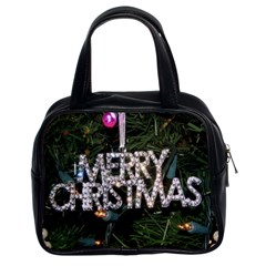Merry Christmas  Twin Sided Satched Handbag