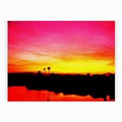 Pink Sunset Twin Sided Handkerchief