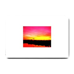 Pink Sunset Small Door Mat