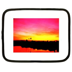Pink Sunset 15  Netbook Case