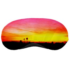 Pink Sunset Sleep Eye Mask