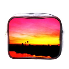 Pink Sunset Single-sided Cosmetic Case