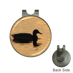 Lone Duck Hat Clip With Golf Ball Marker