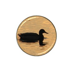 Lone Duck Golf Ball Marker (for Hat Clip)