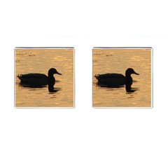 Lone Duck Square Cuff Links