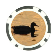 Lone Duck Poker Chip