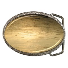 Rain Drops Belt Buckle (Oval)