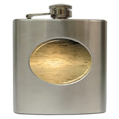 Rain Drops Hip Flask