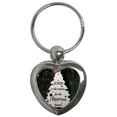 Jesus is the Reason Key Chain (Heart)